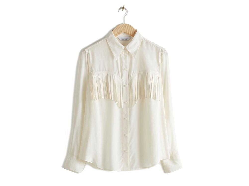 camicia-bianca-con-frange-topshop