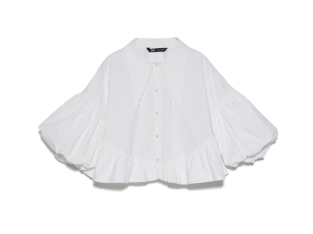 camicia-bianca-maniche-a-sbuffo-zara