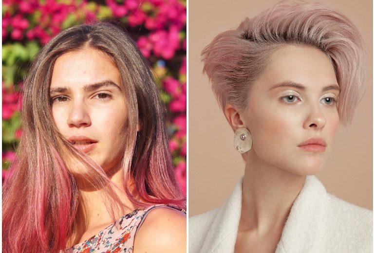 Capelli rosa: come portarli per avere un hairlook on trend