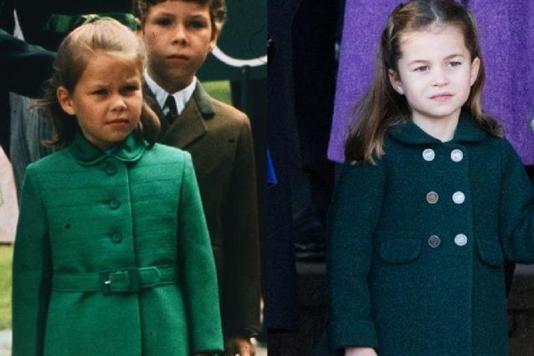 La principessa Charlotte è una fotocopia di un altro membro della famiglia reale: la riconoscete?