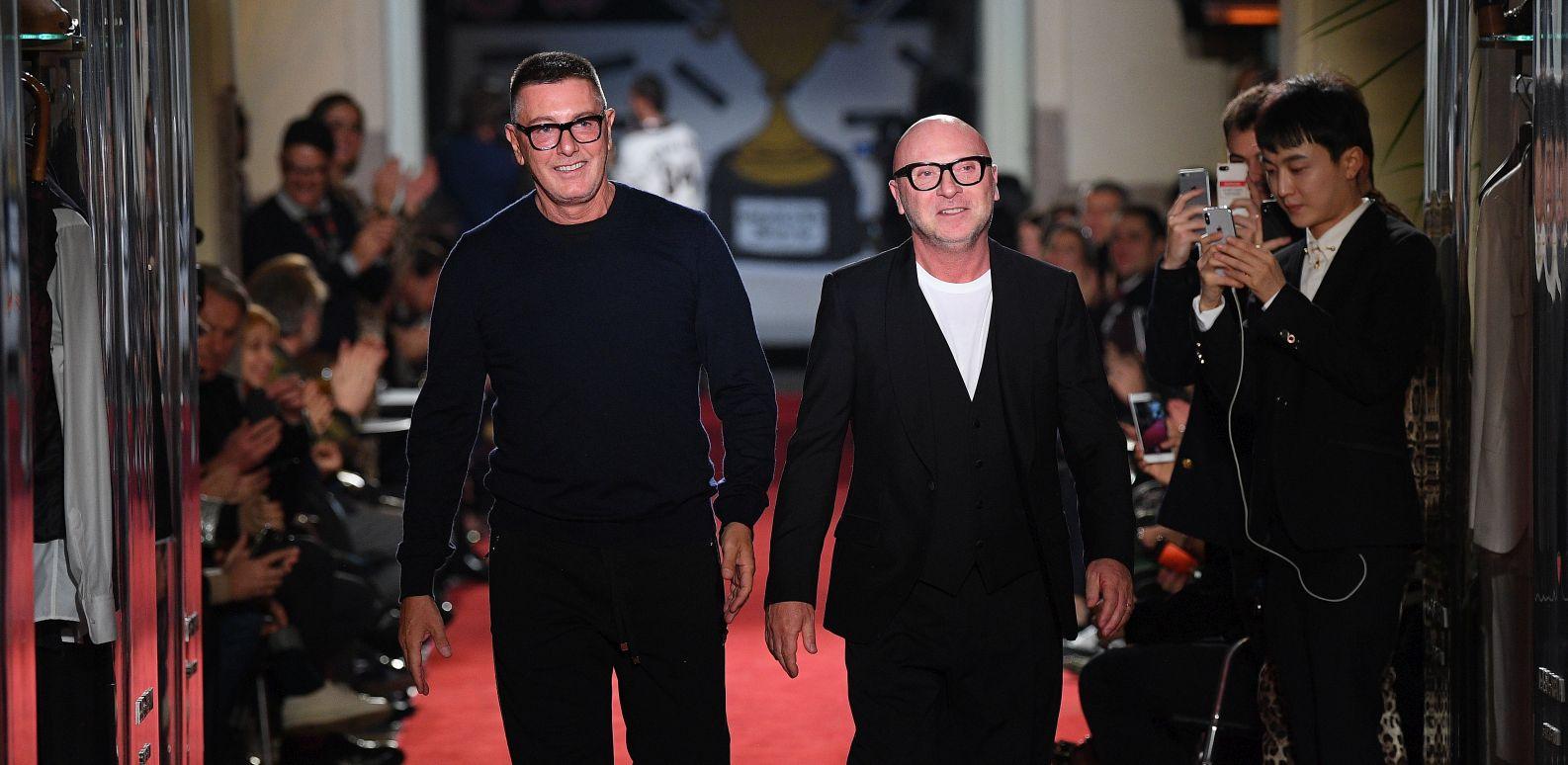 Dolce & Gabbana Unexpected Show - Runway - Milan Men's Fashion Week Fall/Winter 2018/19