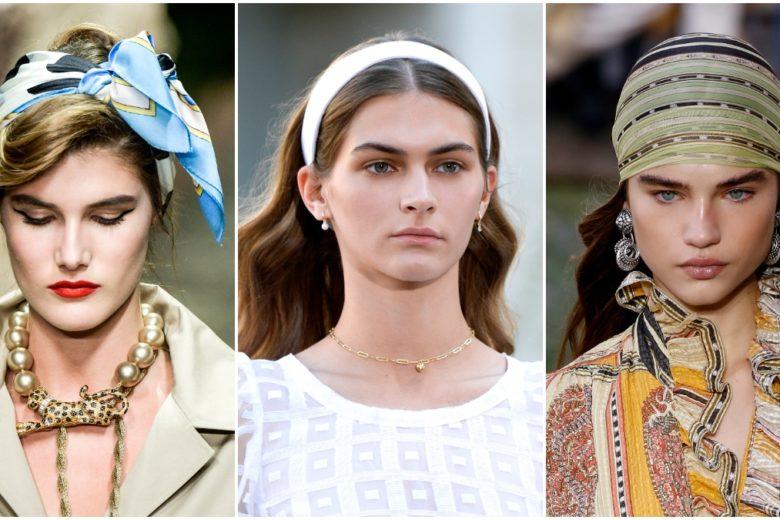 Fasce per capelli: come portarle per avere un look cool
