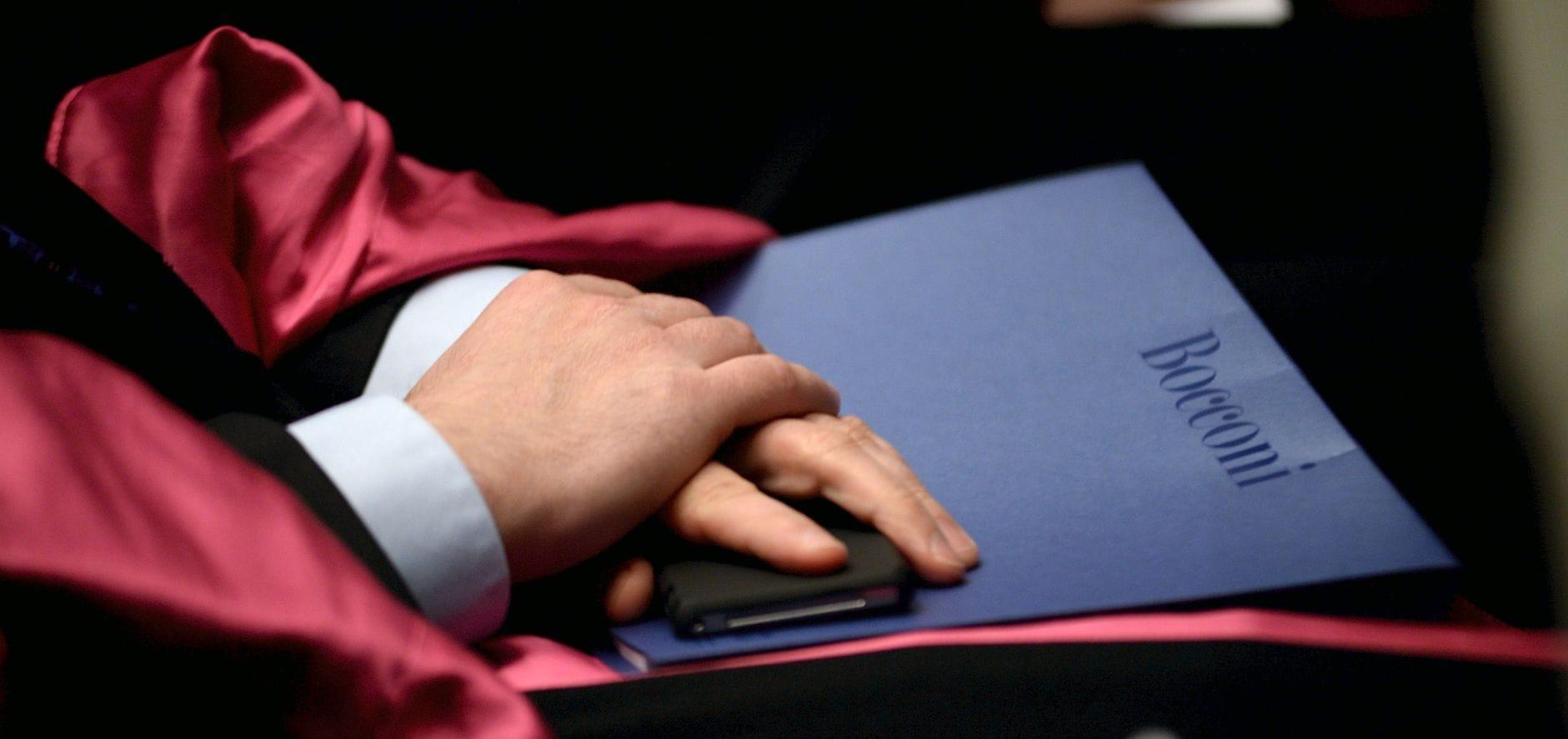 Inauguration Of The Academic Year At Bocconi University