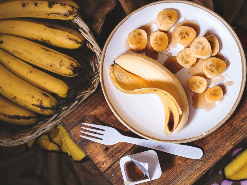 Banane frutta macedonia