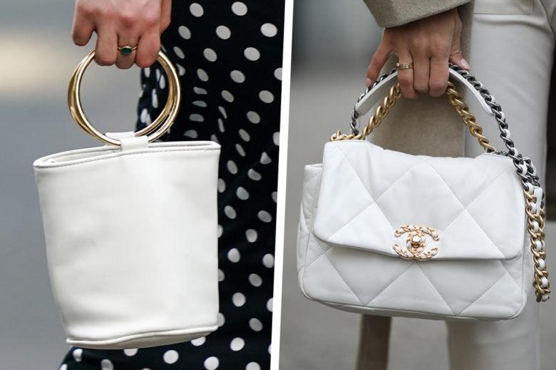 La borsa top per l'estate? Bianca e freschissima, chic e bellissima!