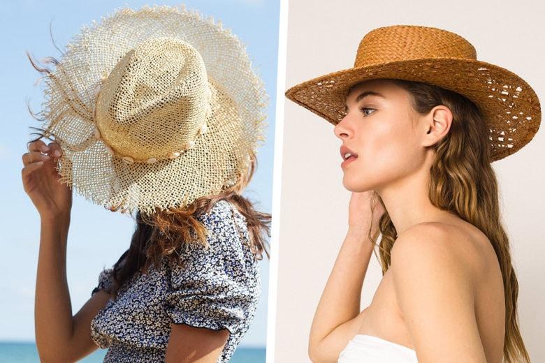 Il cappello di paglia è l'accessorio più chic che potrete indossare quest'estate