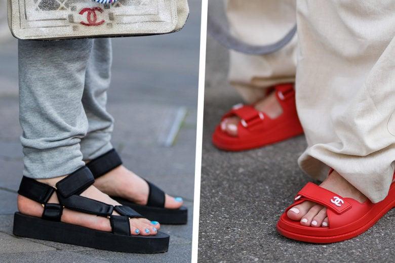Elogio dei chunky sandals: sono loro i protagonisti dell'estate 2020