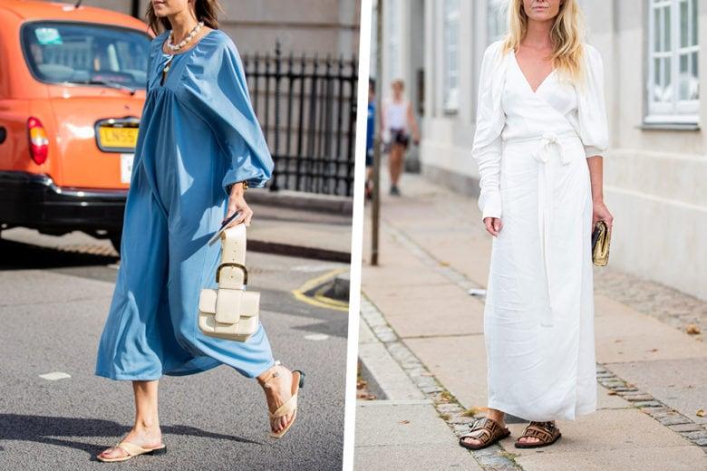 Slide sandals: le ciabattine chic da sfoggiare per tutta l'estate (sì, anche in città!)