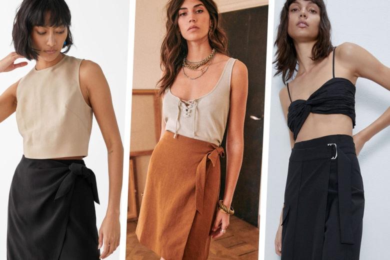Gonne a portafoglio: ecco i modelli più easy-to-wear del momento