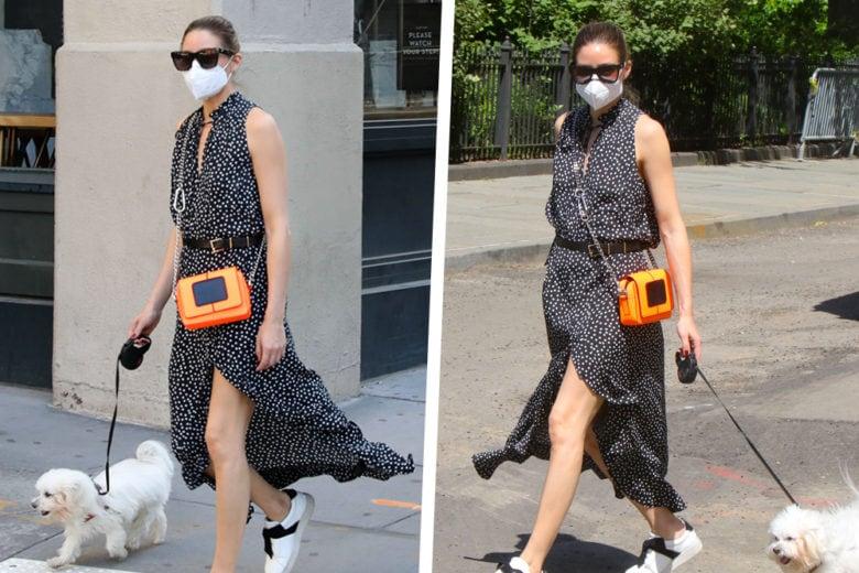 Olivia Palermo indossa sempre il look perfetto (anche a passeggio con Mr. Butler)