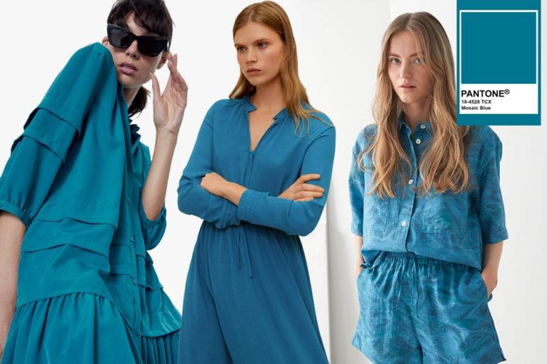 Vi presentiamo il Mosaic Blue, il blu Pantone più raffinato dell'estate 2020