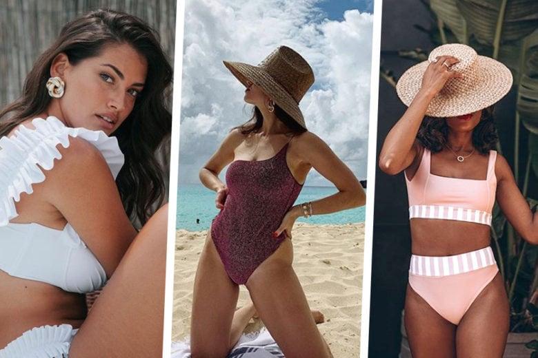 Costumi da bagno: i modelli più amati dalle influencer