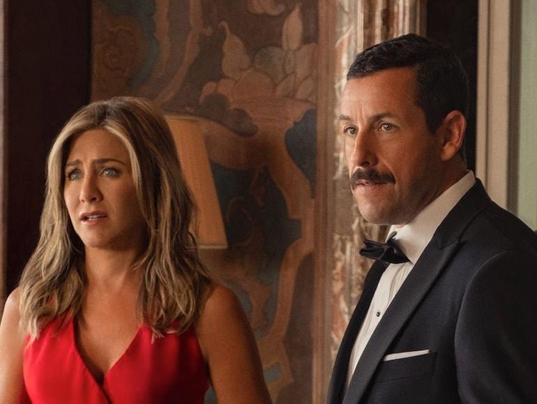 Jennifer Aniston vestito rosso