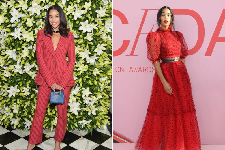 "Laura Harrier: lo stile super glam della protagonista della serie tv ""Hollywood"""