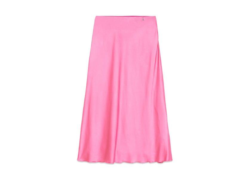 PATRIZIA-PEPE-gonna-in-raso-color-rosa