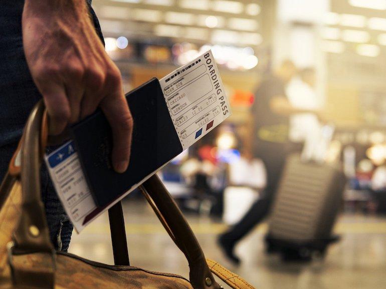 biglietto aereo volo