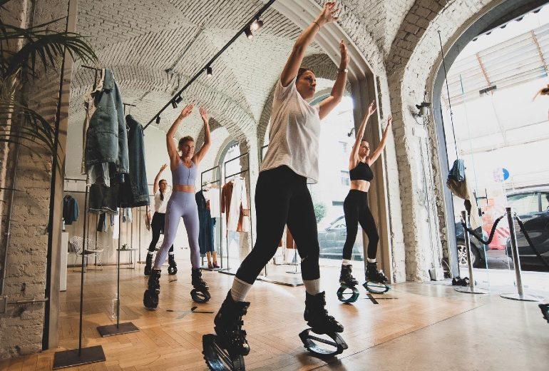La nuova disciplina sportiva da provare? Il Jumple! L'abbiamo testata con Federica Fontana