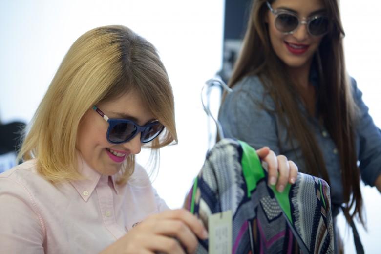 Vogue Eyewear: la collezione Colorbands indossata dalle It Blogger Fabrizia e Giorgia