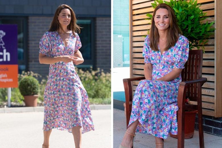 Kate Middleton torna a farci sognare con uno dei suoi dress favolosi