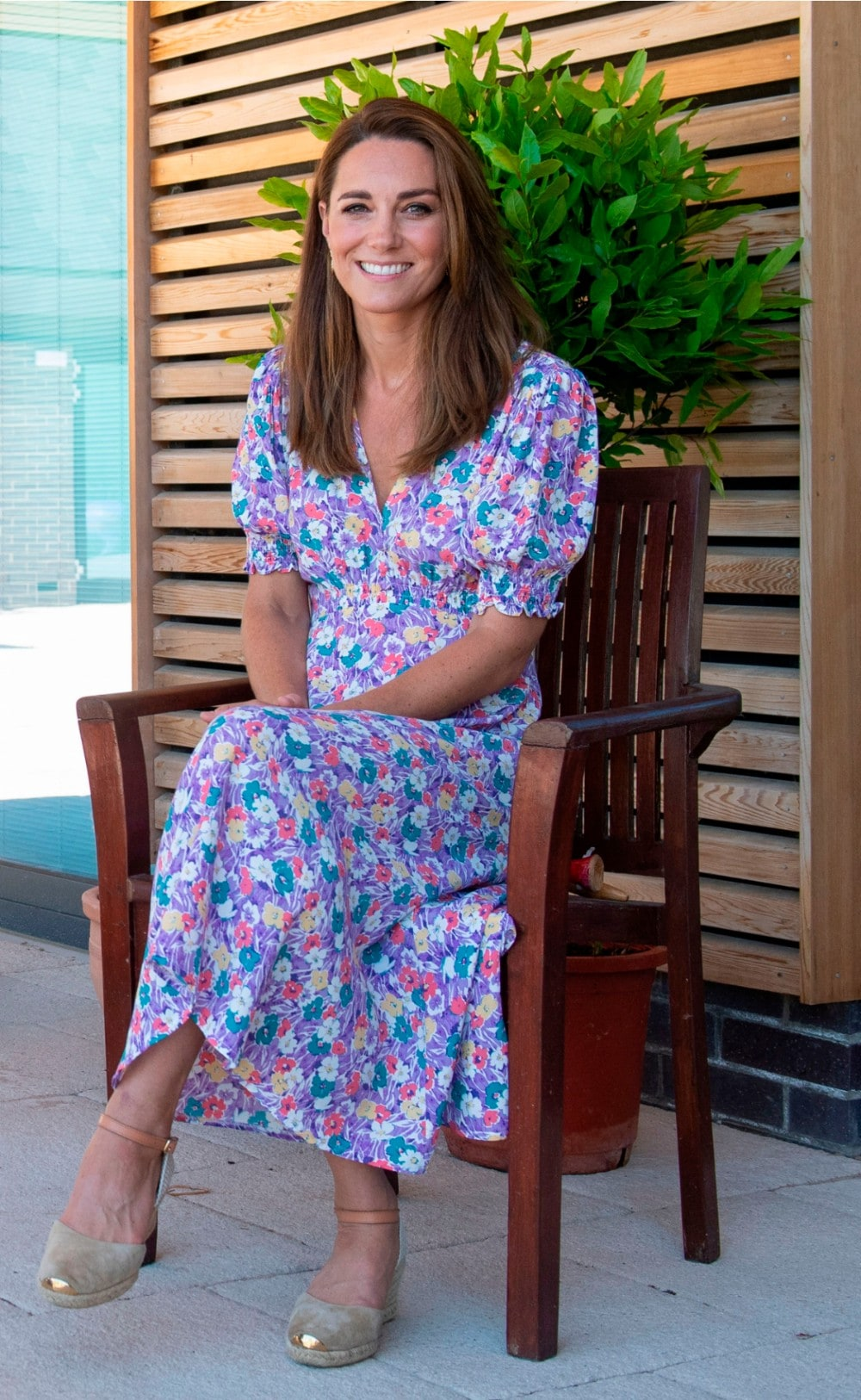 kate floral dress 1