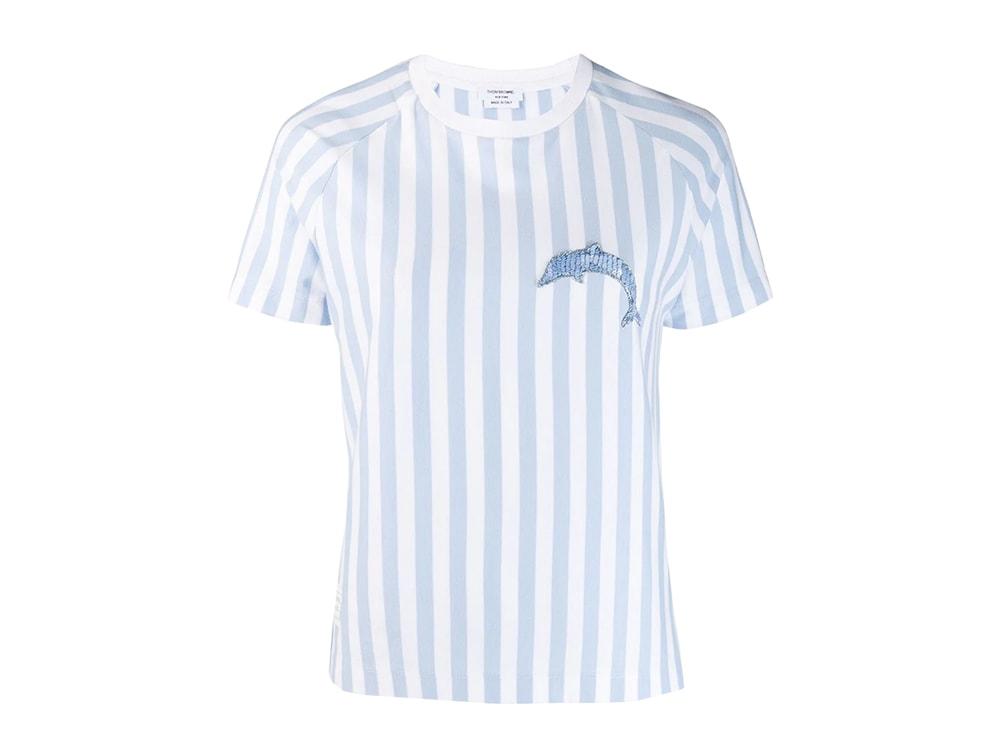t-shirt-delfino-THOM-BROWNE-farfetch
