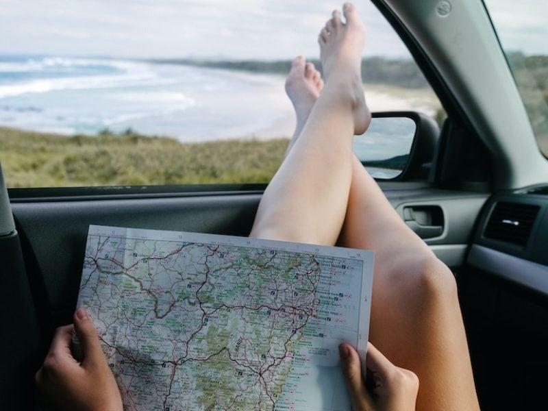 viaggio macchina mappa
