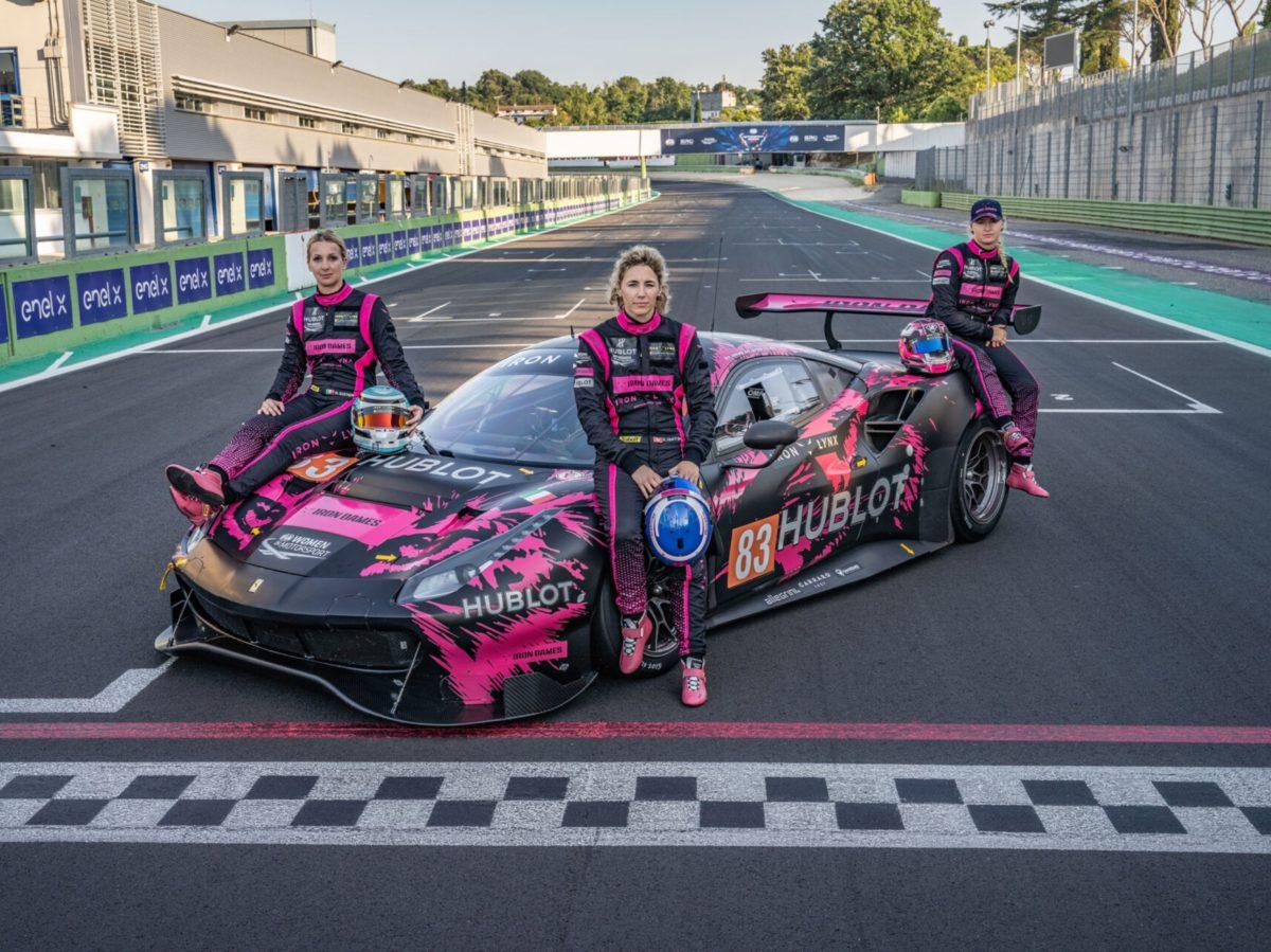 Iron Dames per la 24 ore di Le Mans