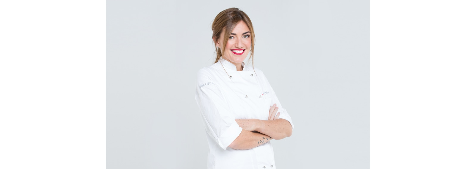 Chiara Maci food blogger per Meritene Proactive hero DESK