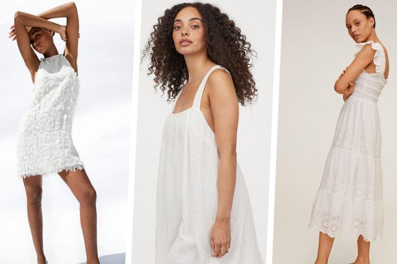 Abiti bianchi: 15 modelli freschi (e super chic) perfetti per l'estate