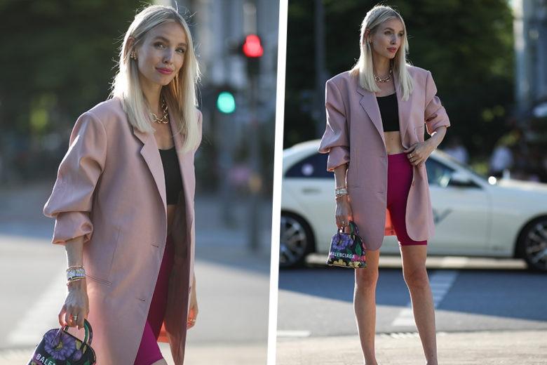 Come indossare i ciclisti in città? Leonie Hanne ha il look giusto per voi
