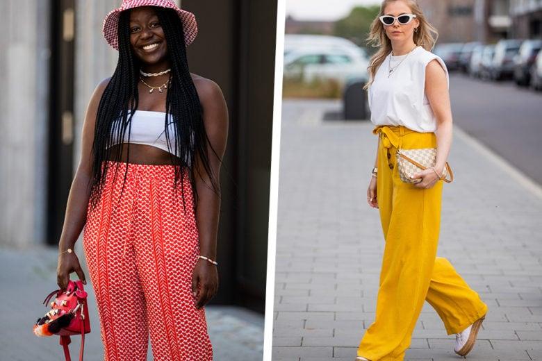 18 modelli di pantaloni leggeri e chic per sopravvivere all'afa estiva