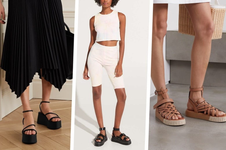 """Sandali platform: sono loro il modello giusto per """"svettare"""" all'insegna del comfort"""