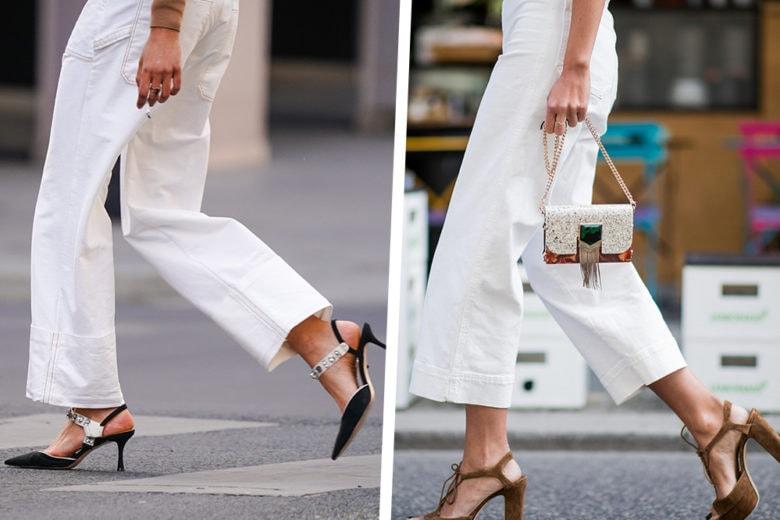 I BFF dell'estate 2020? I jeans bianchi!