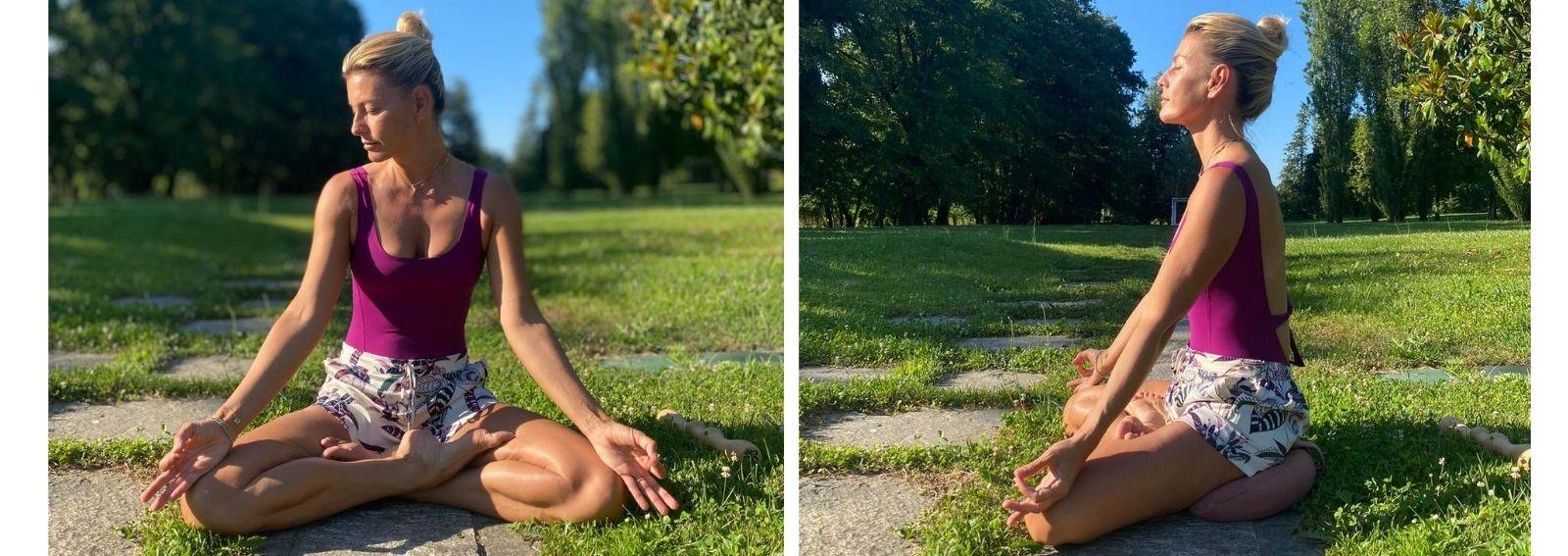 Federica Fontana yoga e meditazione salute e benessere psicofisico DESK
