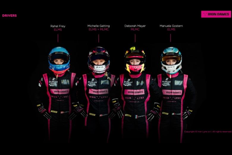 Una line-up di sole donne a Le Mans con Iron Dames