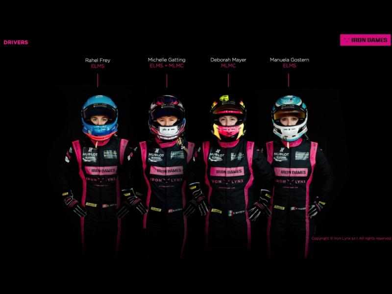 Iron Dames 24 Ore di Le Mans 28