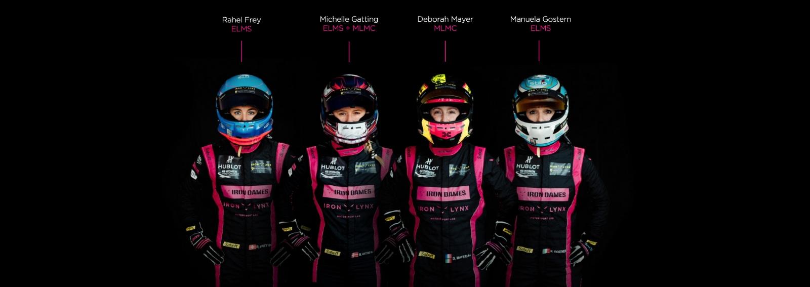 Iron Dames 24 Ore di Le Mans DESK
