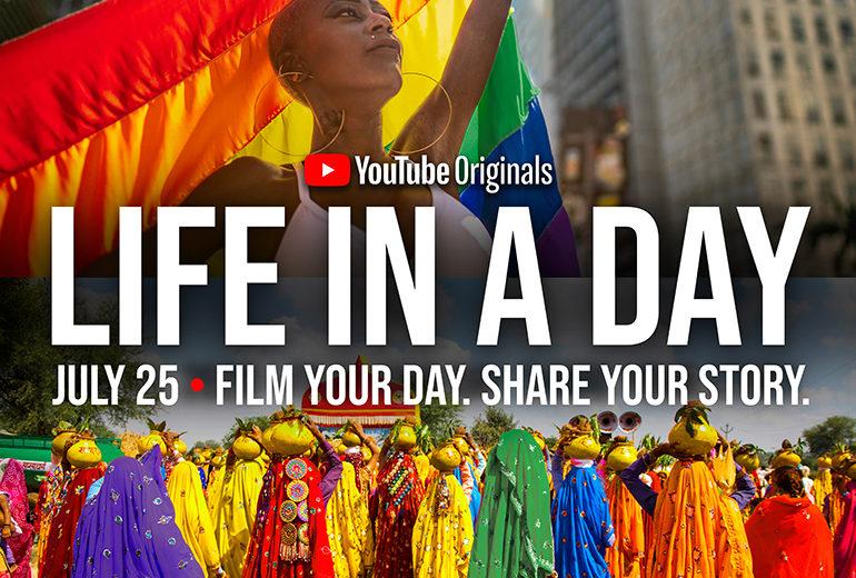 Volete fare un film con Ridley Scott? Il 25 luglio partecipate a La vita in un giorno