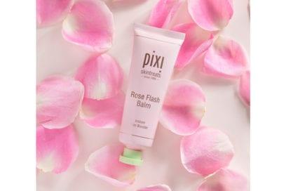 trucco-senza-fondotinta-crema-idratante-levigante-pixi-beauty-rose-flash-balm