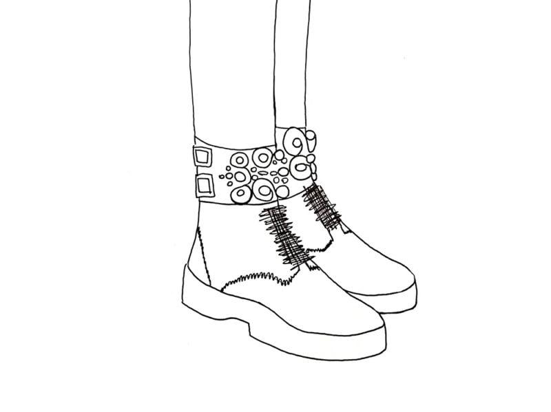 In her shoes — e non è il film con Cameron Diaz