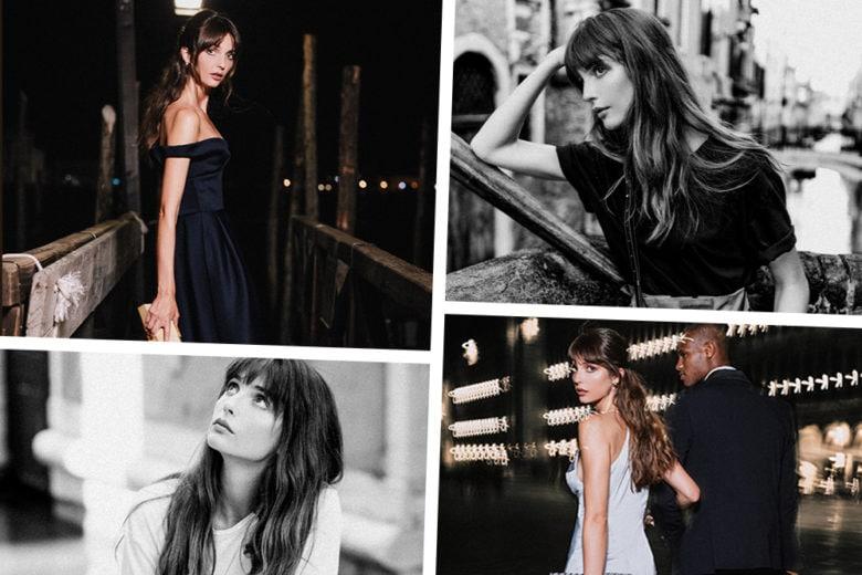 Venise Mon Amour: l'esclusivo shooting di Au Départ realizzato a Venezia con Annabelle Belmondo
