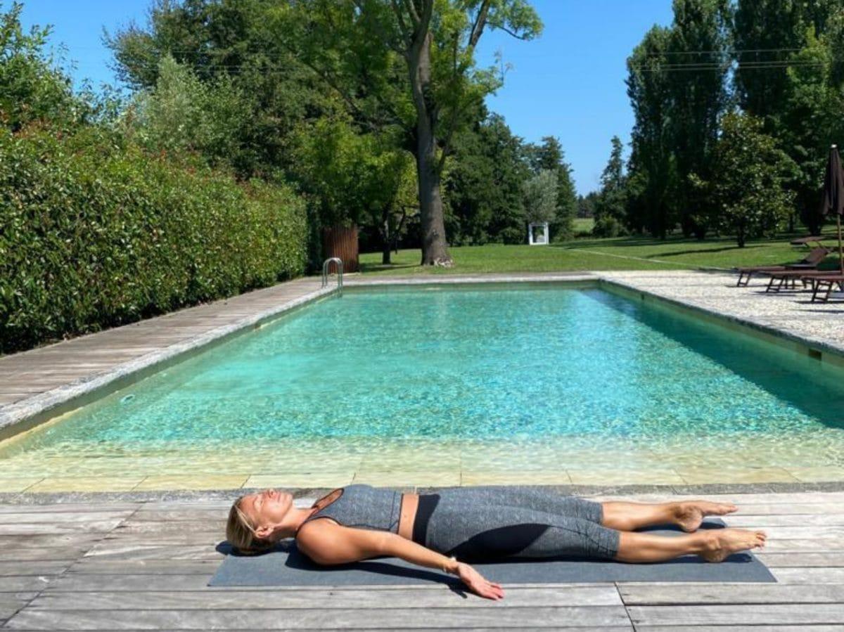 Federica Fontana perche praticare yoga tutti i gironi benessere salute 31