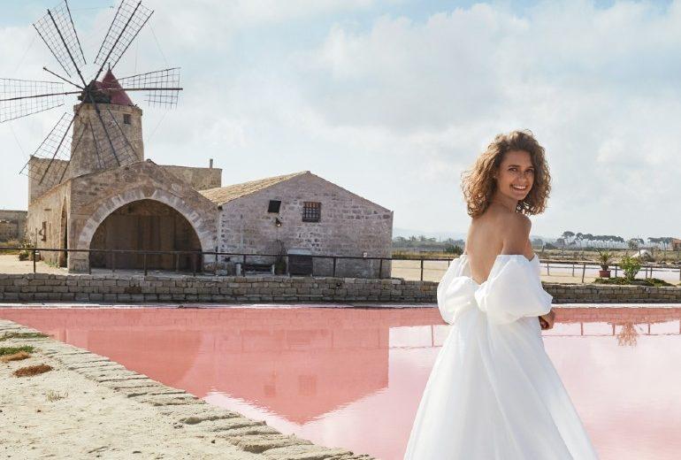Pink Dream: la campagna di Atelier Emé Sposa 2021