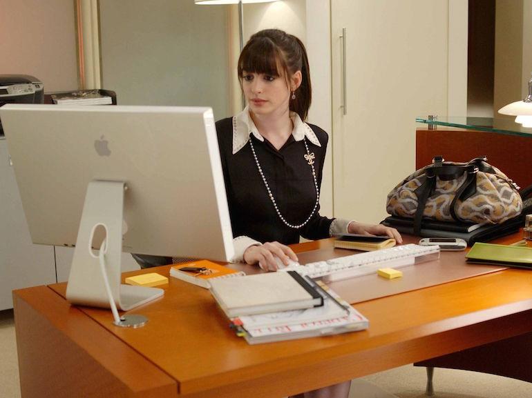 Anne Hathaway lavoro