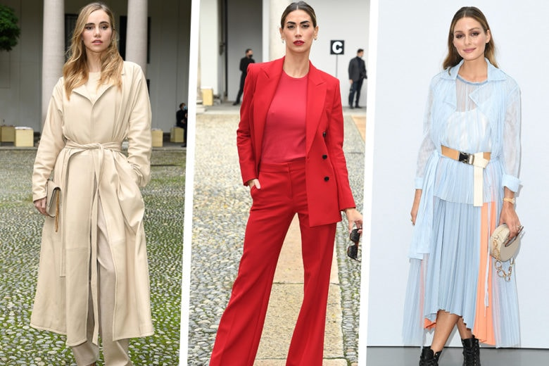 Milano Fashion Week: le star da front row alle sfilate
