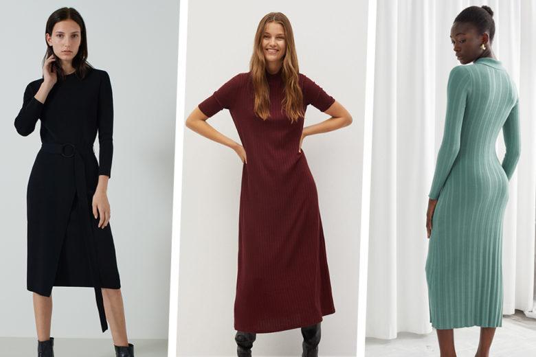 Abiti in maglia: le versioni più belle dell'autunno 2020