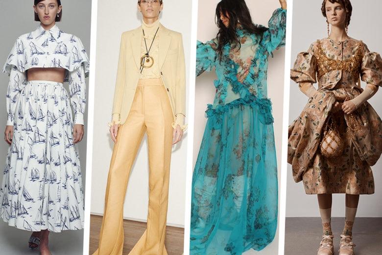 """London Fashion Week: vi mostriamo il """"best of"""" delle collezioni SS21"""
