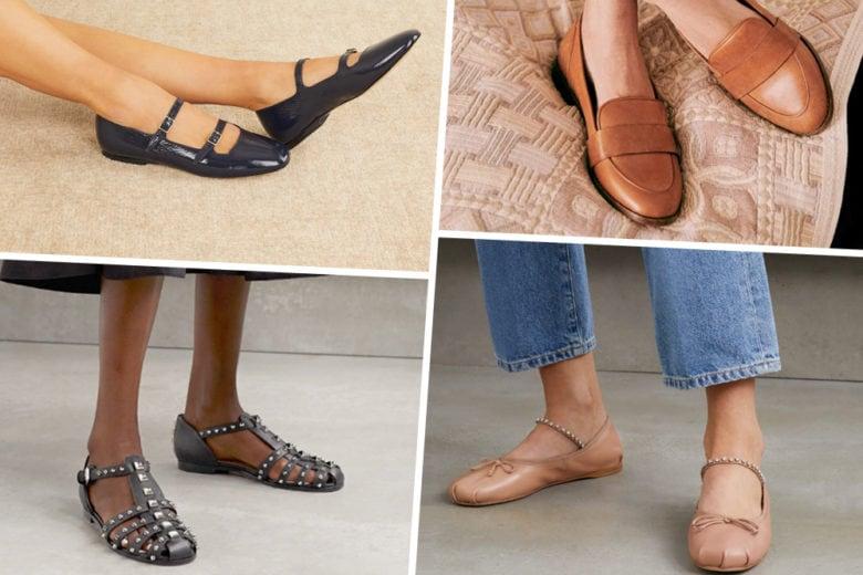 "In ""flat"" we trust: ecco le scarpe basse più belle d'autunno"