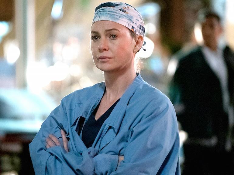 Ellen Pompeo medico