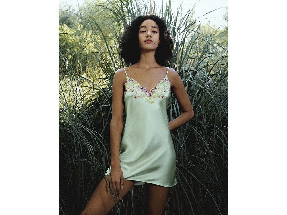 La-Perla-MAISON-RAINBOW-Pale-Green-silk-satin-slip-with-frastaglio-embroidery.-Photographer–Larissa-Hofmann.-Hero-shot